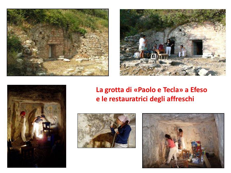 La grotta di «Paolo e Tecla» a Efeso