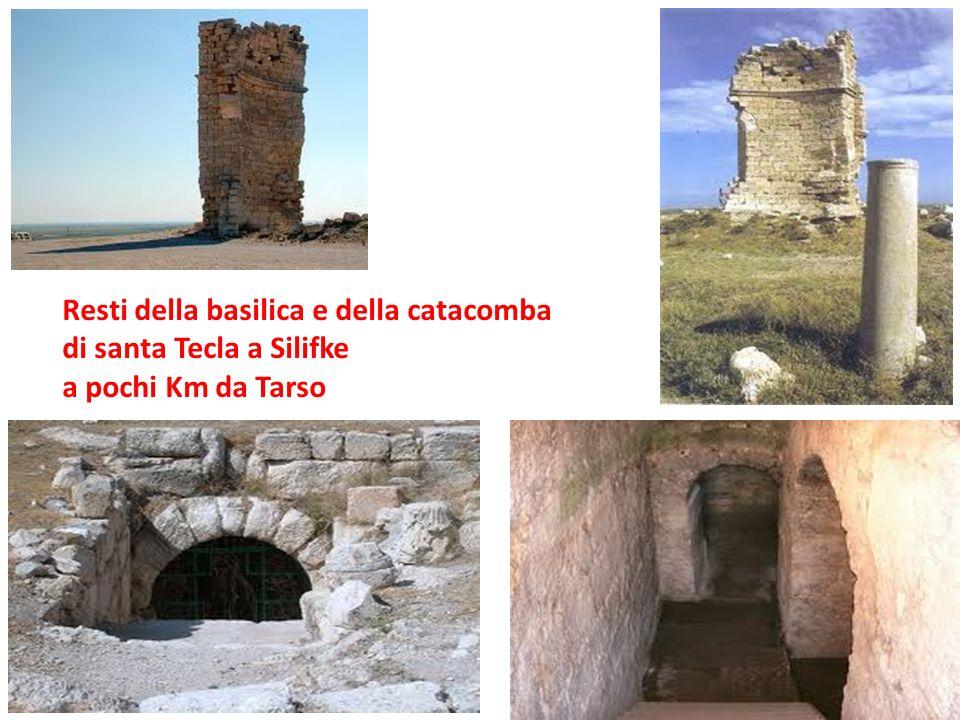 Resti della basilica e della catacomba