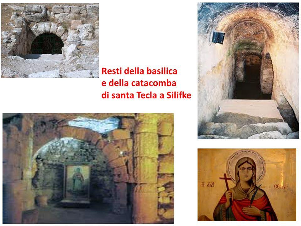 Resti della basilica e della catacomba di santa Tecla a Silifke