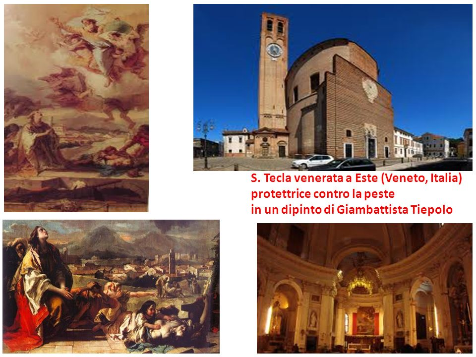 S. Tecla venerata a Este (Veneto, Italia)
