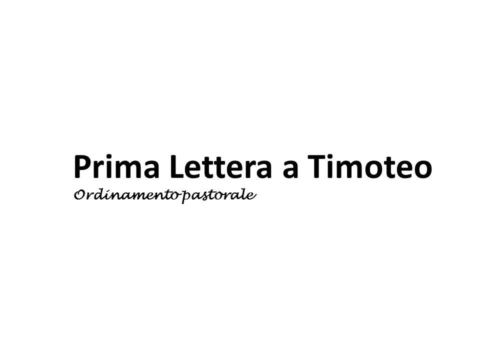 Prima Lettera a Timoteo