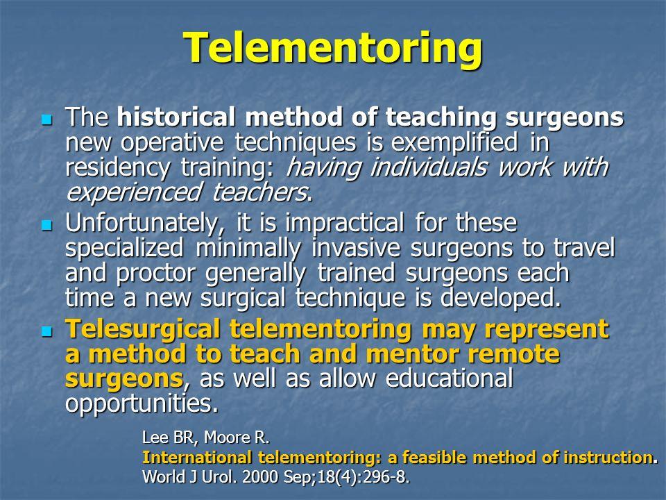 Telementoring