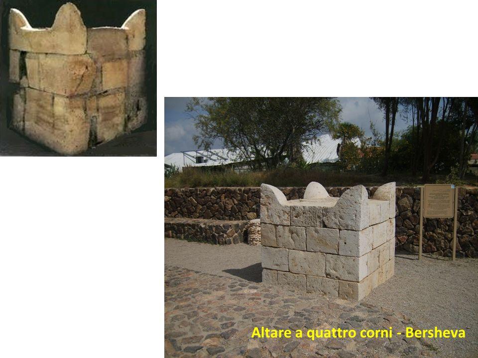 Altare a quattro corni - Bersheva
