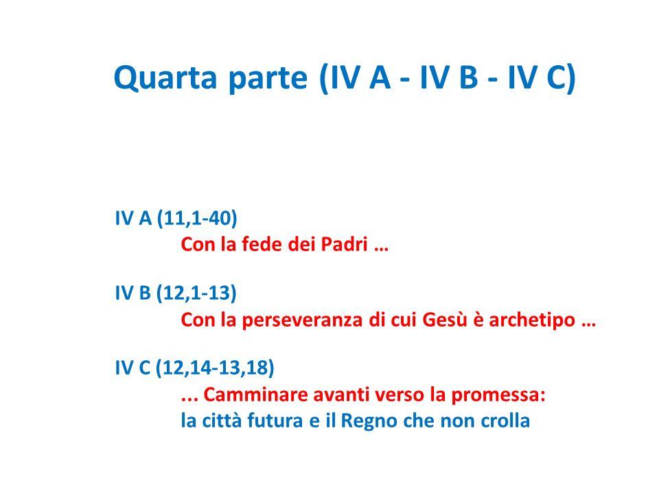 Quarta parte (IV A - IV B - IV C)