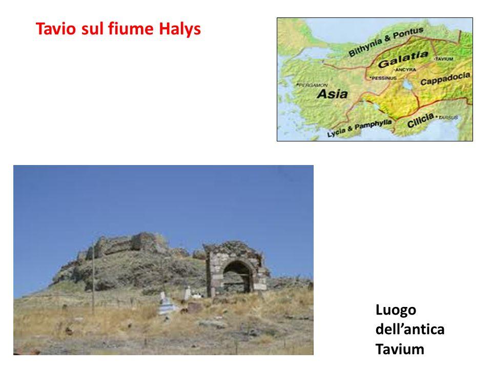 Tavio sul fiume Halys Luogo dell'antica Tavium