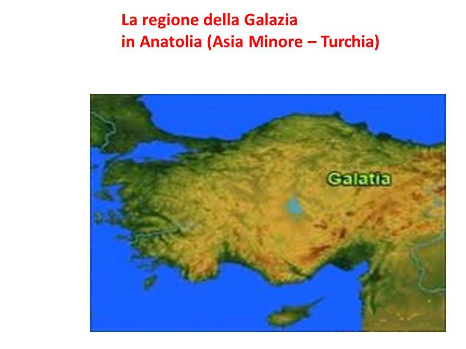 La regione della Galazia