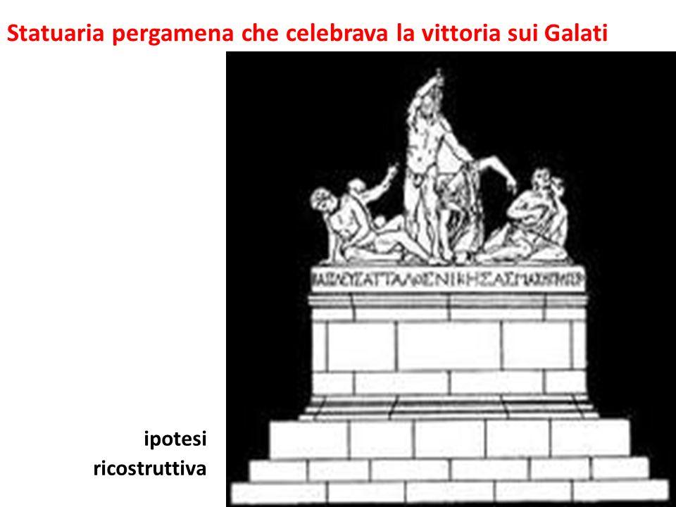 Statuaria pergamena che celebrava la vittoria sui Galati
