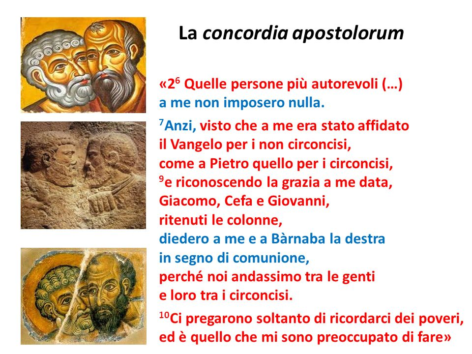La concordia apostolorum