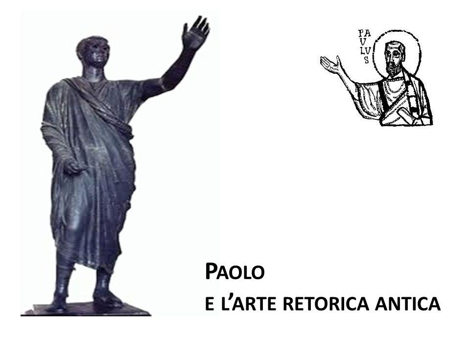 Paolo e l'arte retorica antica
