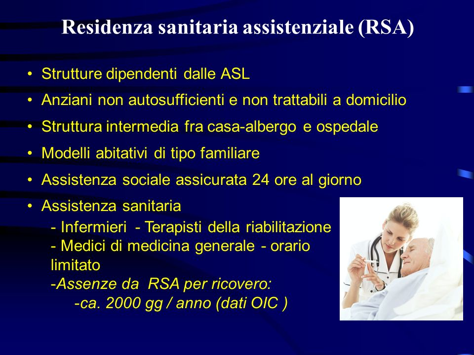 Residenza sanitaria assistenziale (RSA)