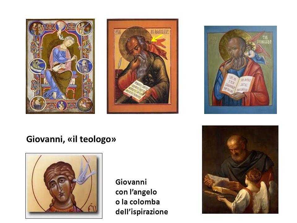 Giovanni, «il teologo» Giovanni con l'angelo o la colomba
