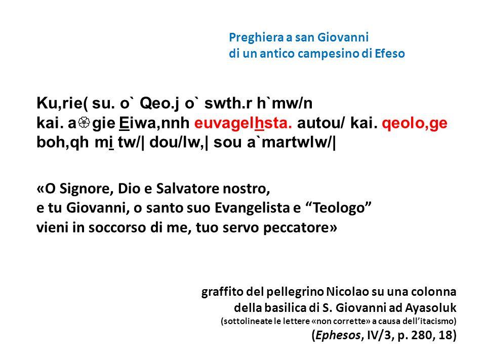 Preghiera a san Giovanni
