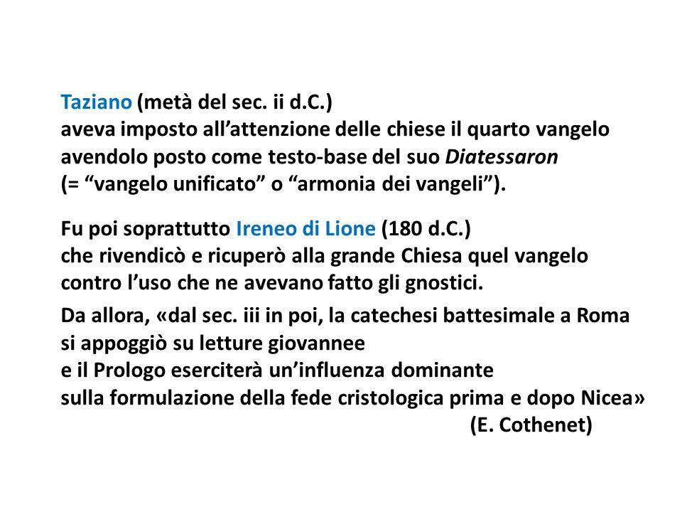 Taziano (metà del sec. ii d. C