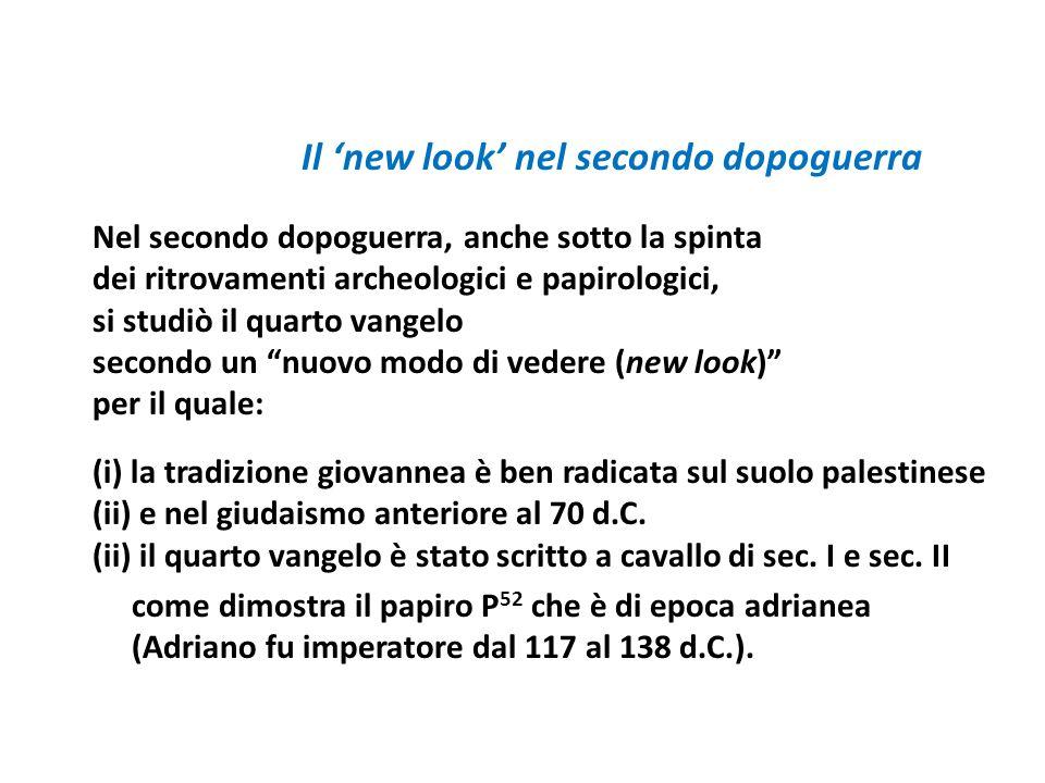 Il 'new look' nel secondo dopoguerra
