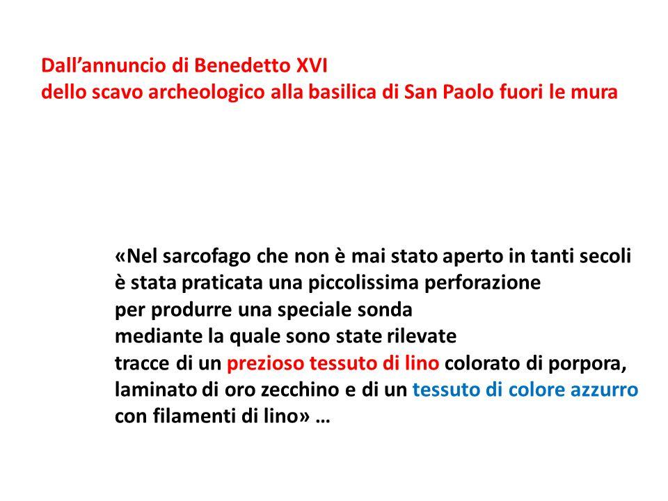 Dall'annuncio di Benedetto XVI