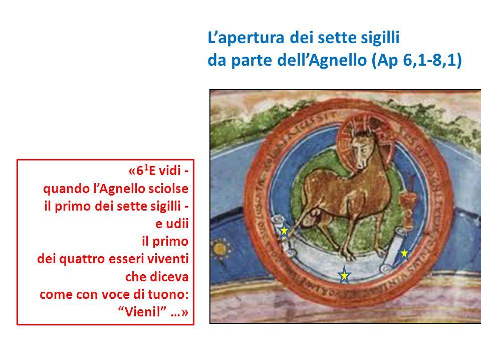 L'apertura dei sette sigilli da parte dell'Agnello (Ap 6,1-8,1)