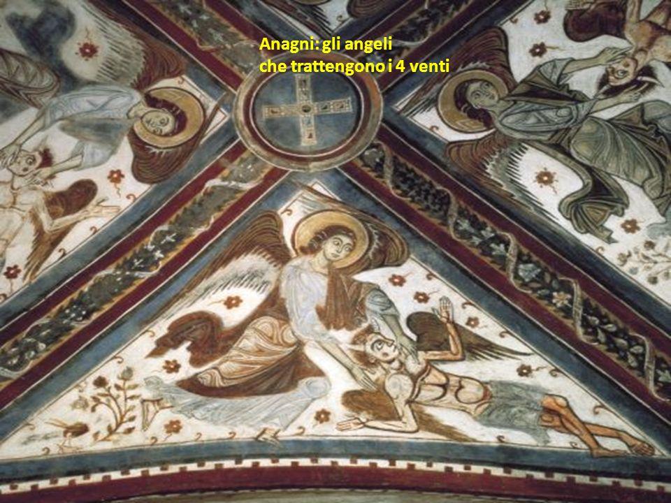 Anagni: gli angeli che trattengono i 4 venti