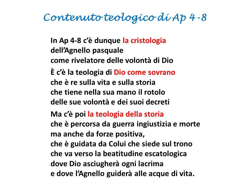 Contenuto teologico di Ap 4-8
