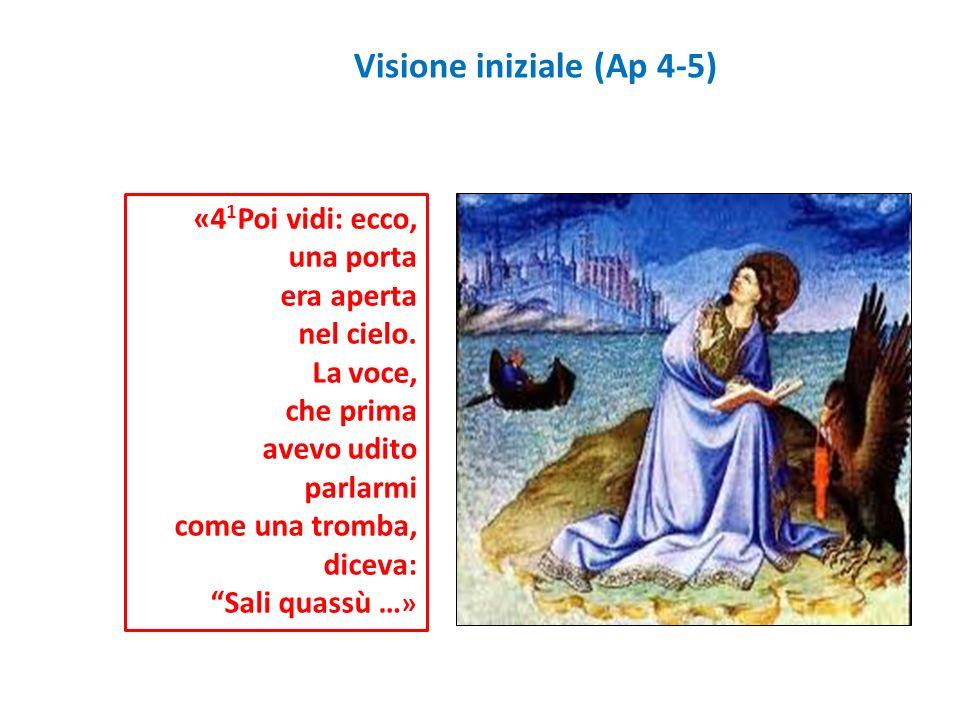 Visione iniziale (Ap 4-5)
