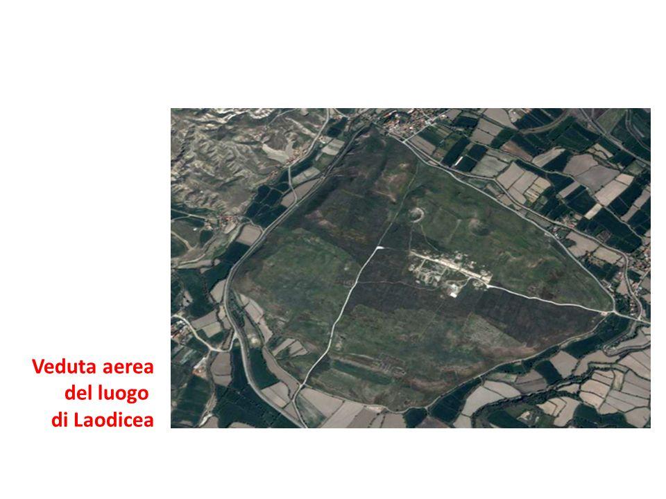Veduta aerea del luogo di Laodicea