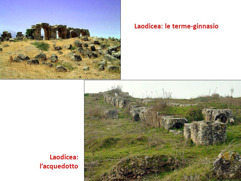 Laodicea: le terme-ginnasio