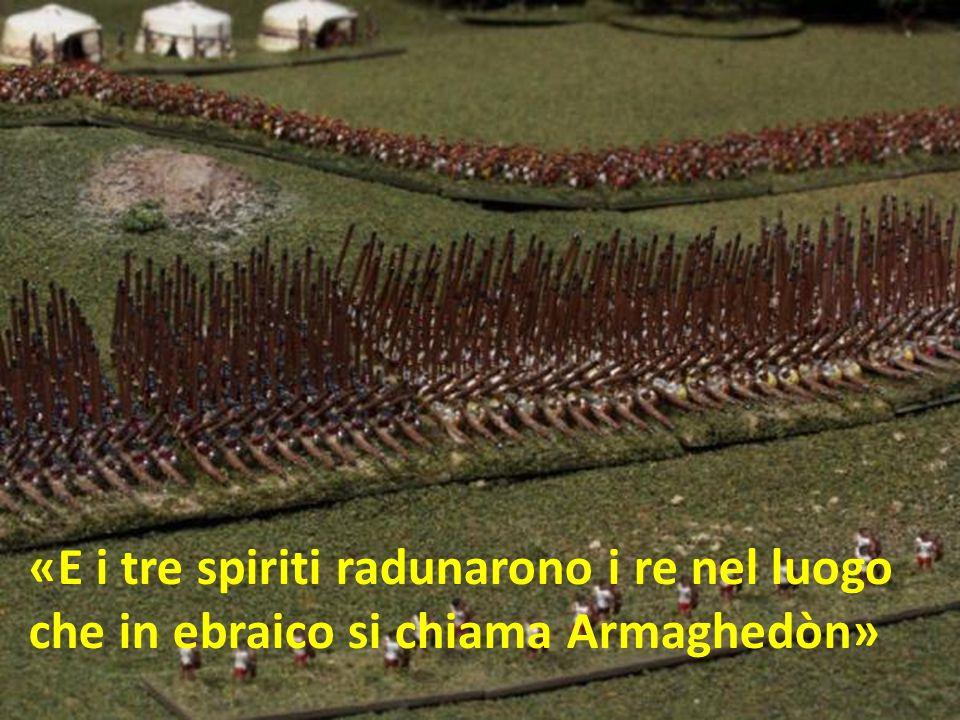 «E i tre spiriti radunarono i re nel luogo
