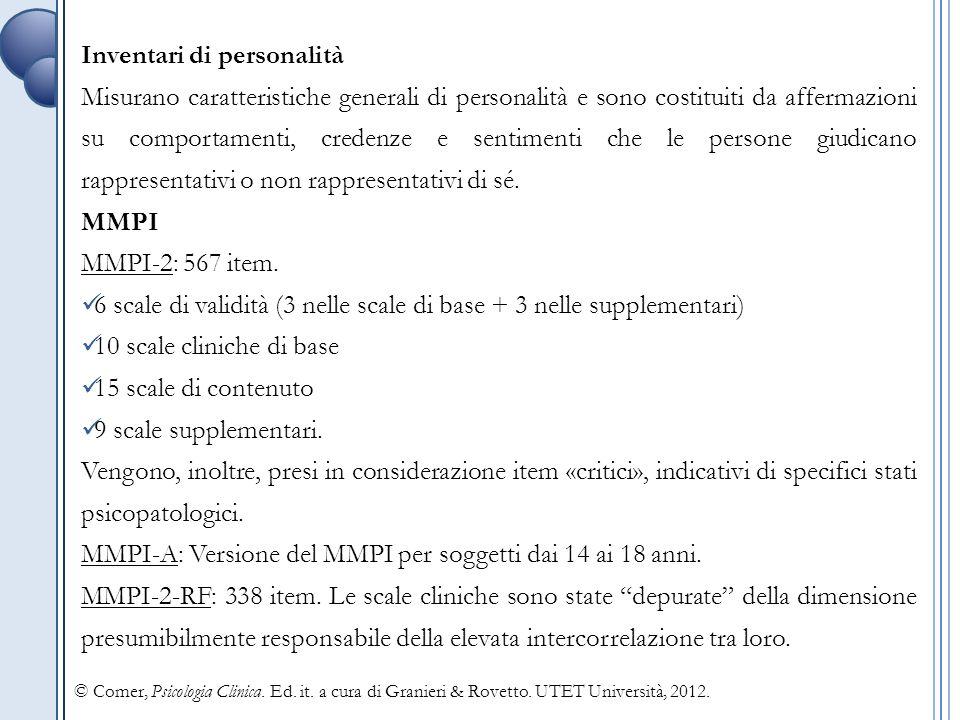 Inventari di personalità