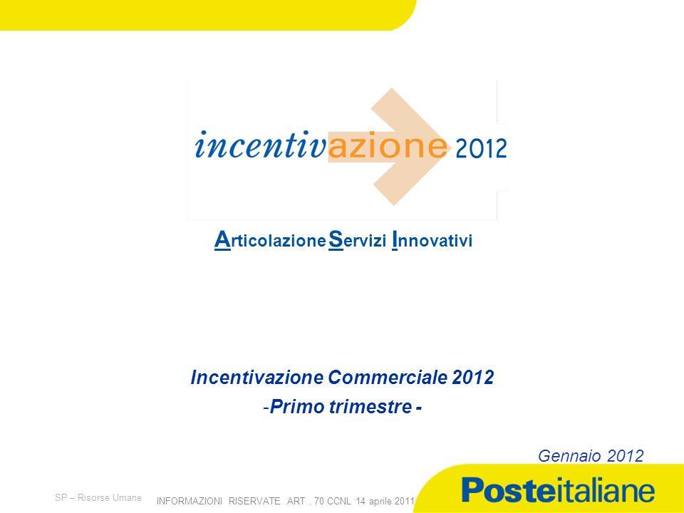 Incentivazione Commerciale 2012
