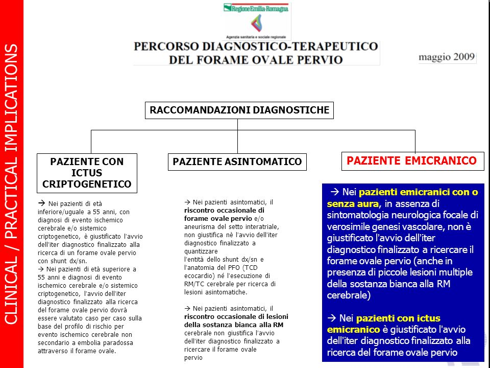PAZIENTE CON ICTUS CRIPTOGENETICO