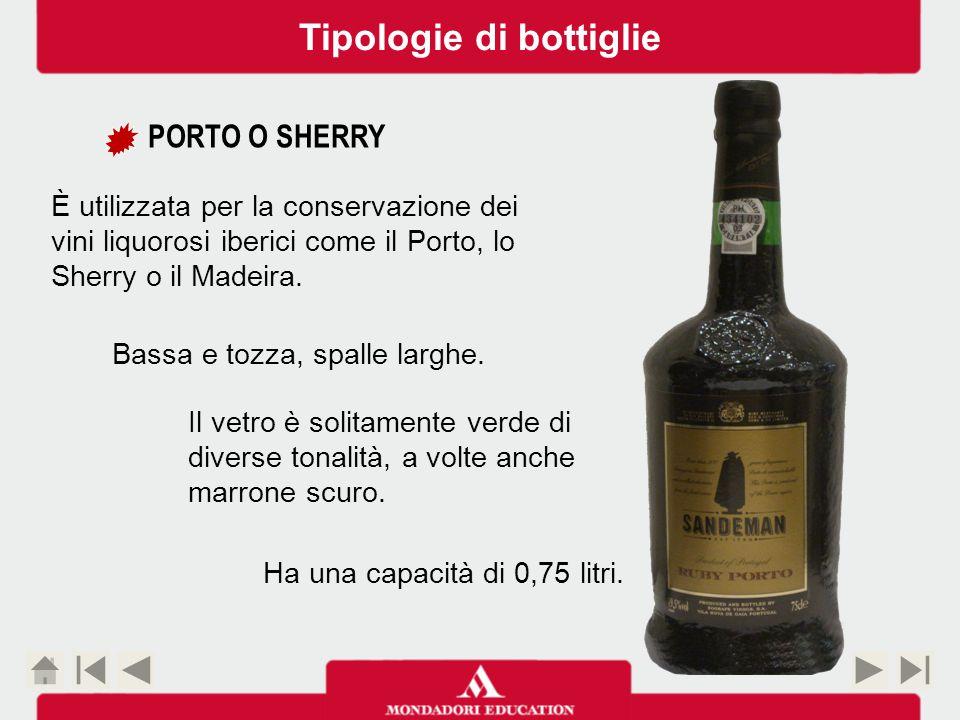 Tipologie di bottiglie