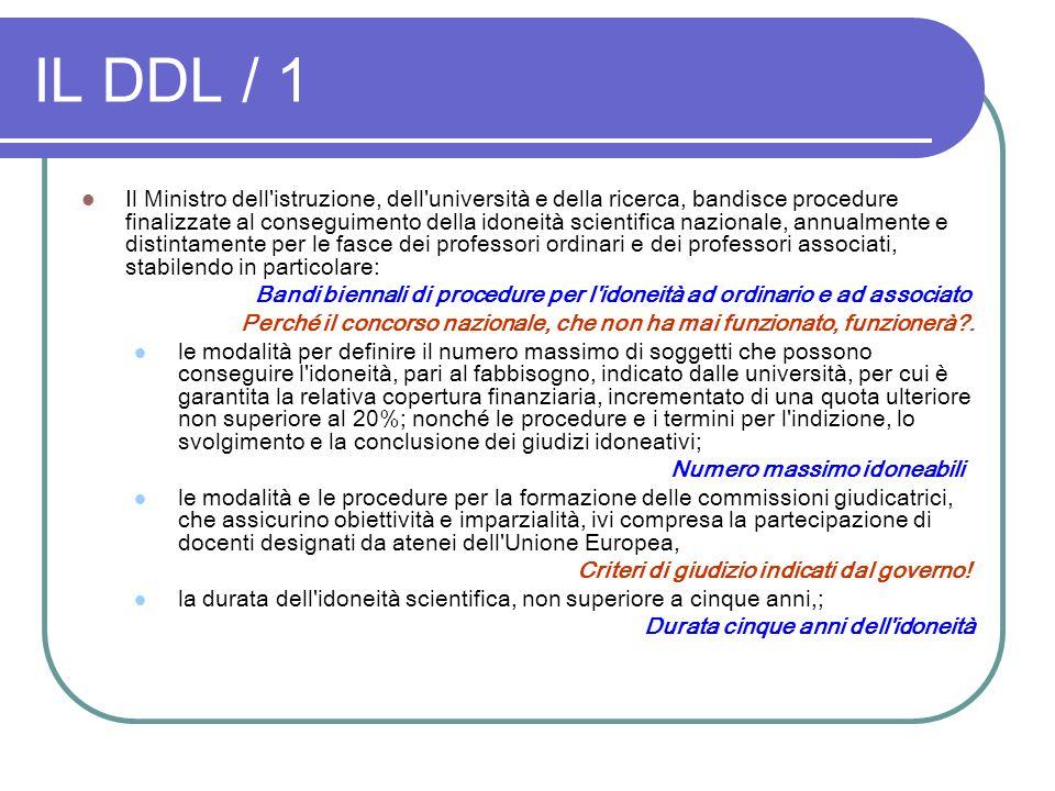 IL DDL / 1