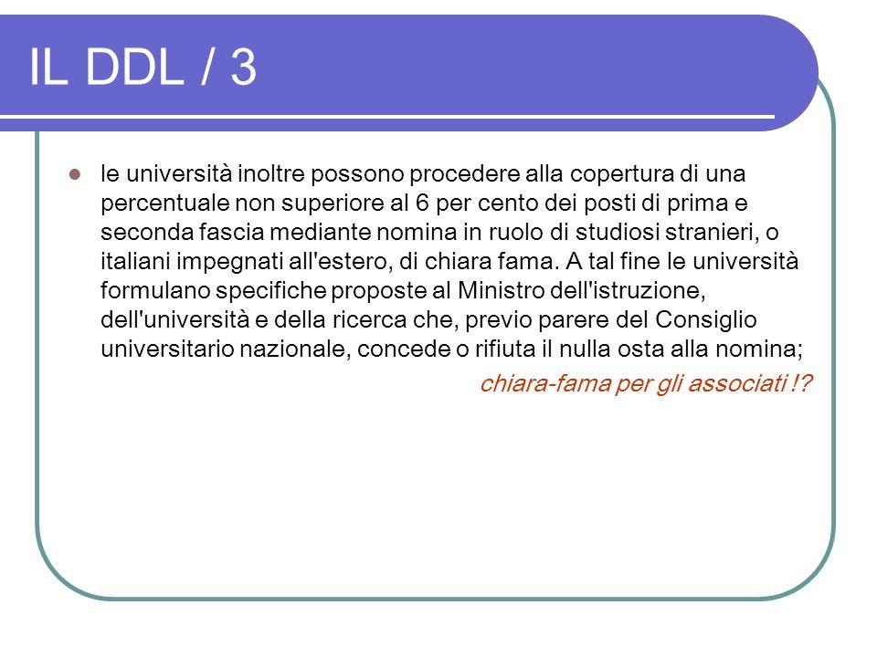IL DDL / 3