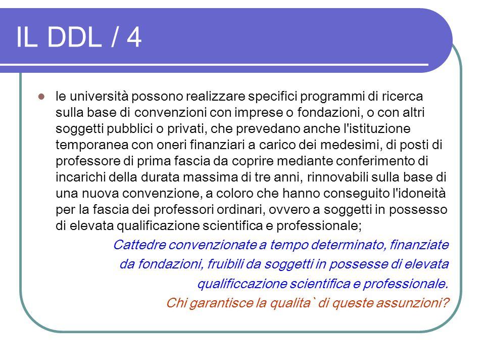 IL DDL / 4