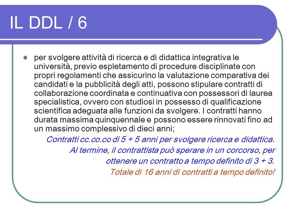 IL DDL / 6