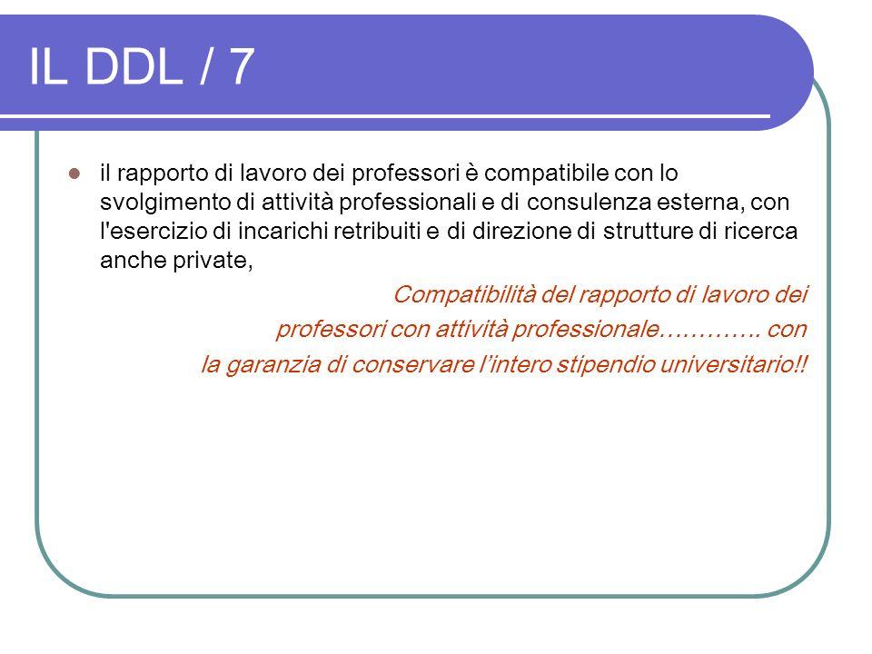 IL DDL / 7
