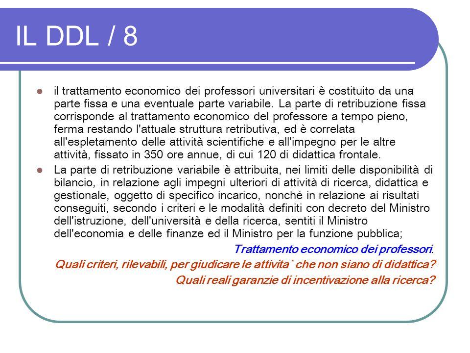 IL DDL / 8