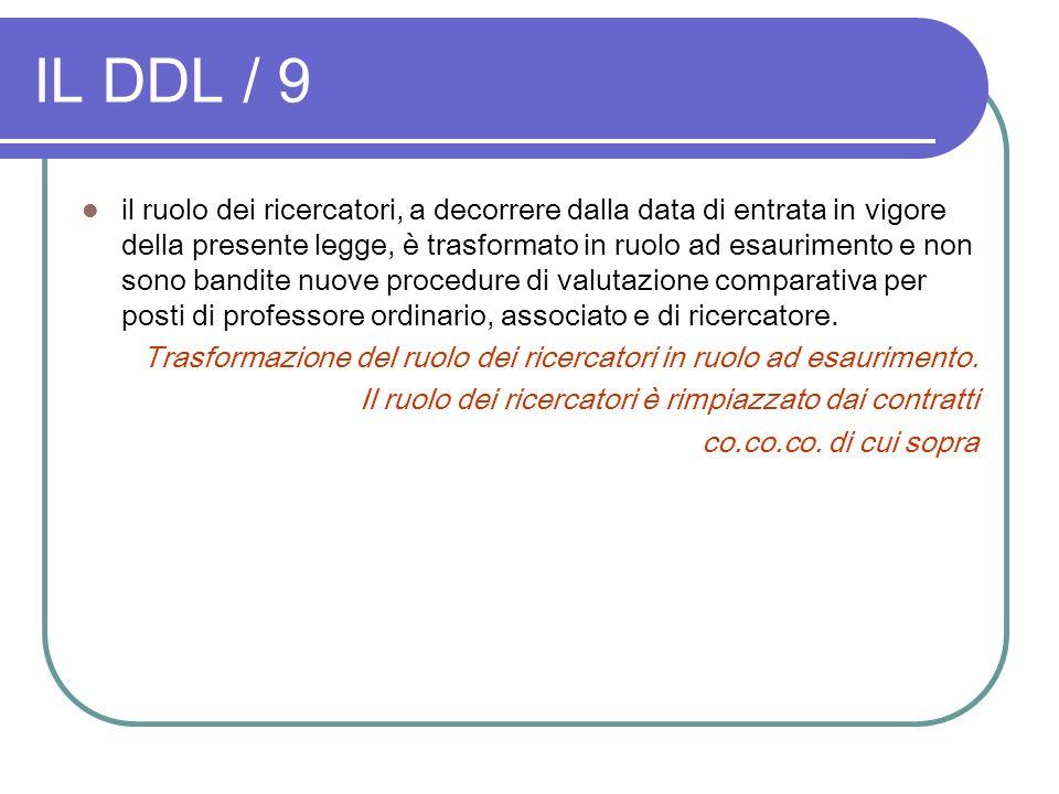 IL DDL / 9