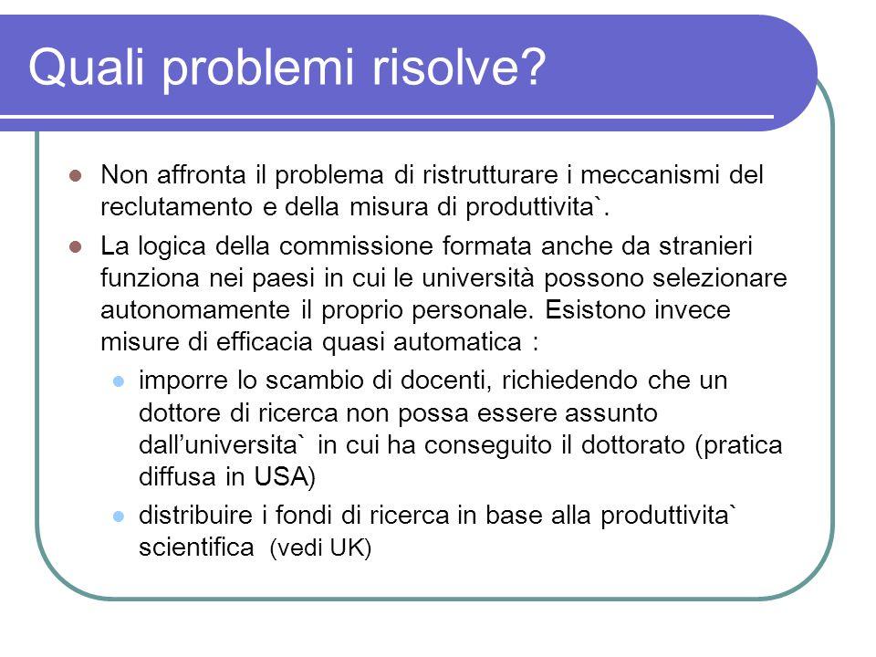 Quali problemi risolve