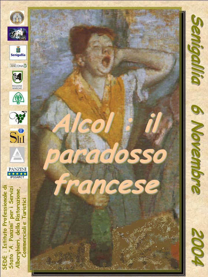 Alcol : il paradosso francese