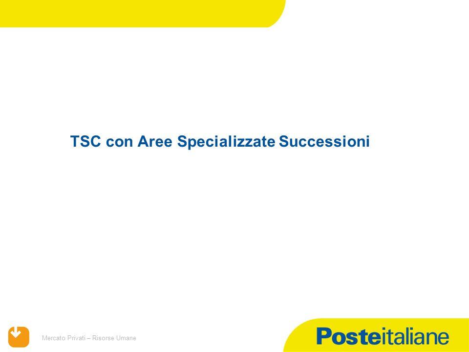TSC con Aree Specializzate Successioni