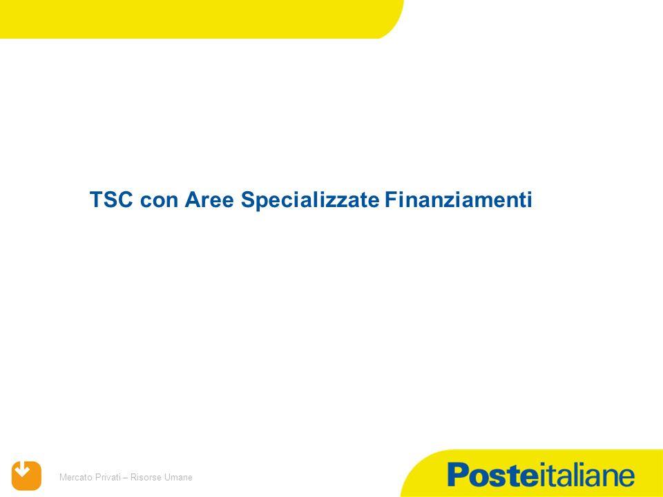TSC con Aree Specializzate Finanziamenti
