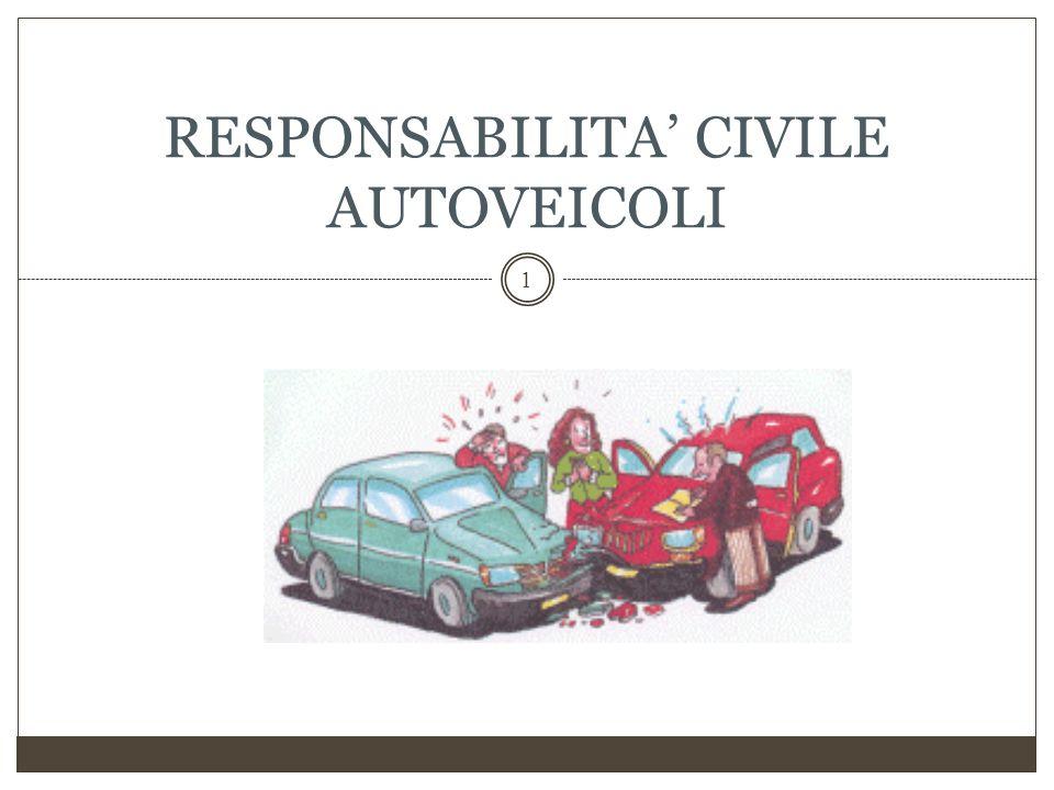 RESPONSABILITA' CIVILE AUTOVEICOLI
