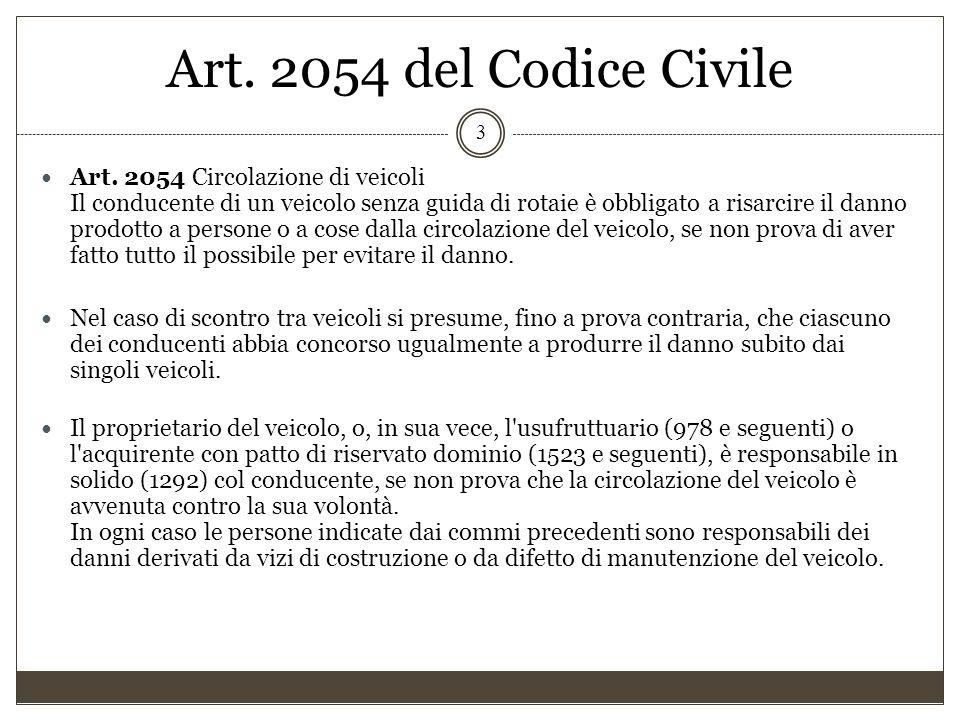 Art. 2054 del Codice Civile