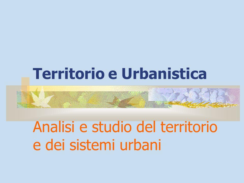 Territorio e Urbanistica