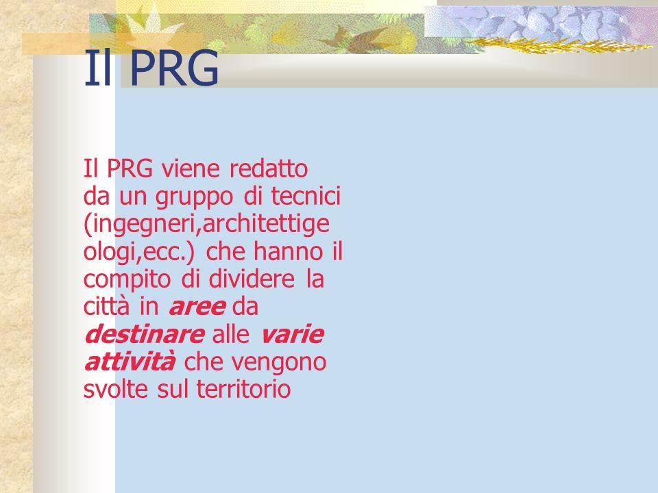 Il PRG