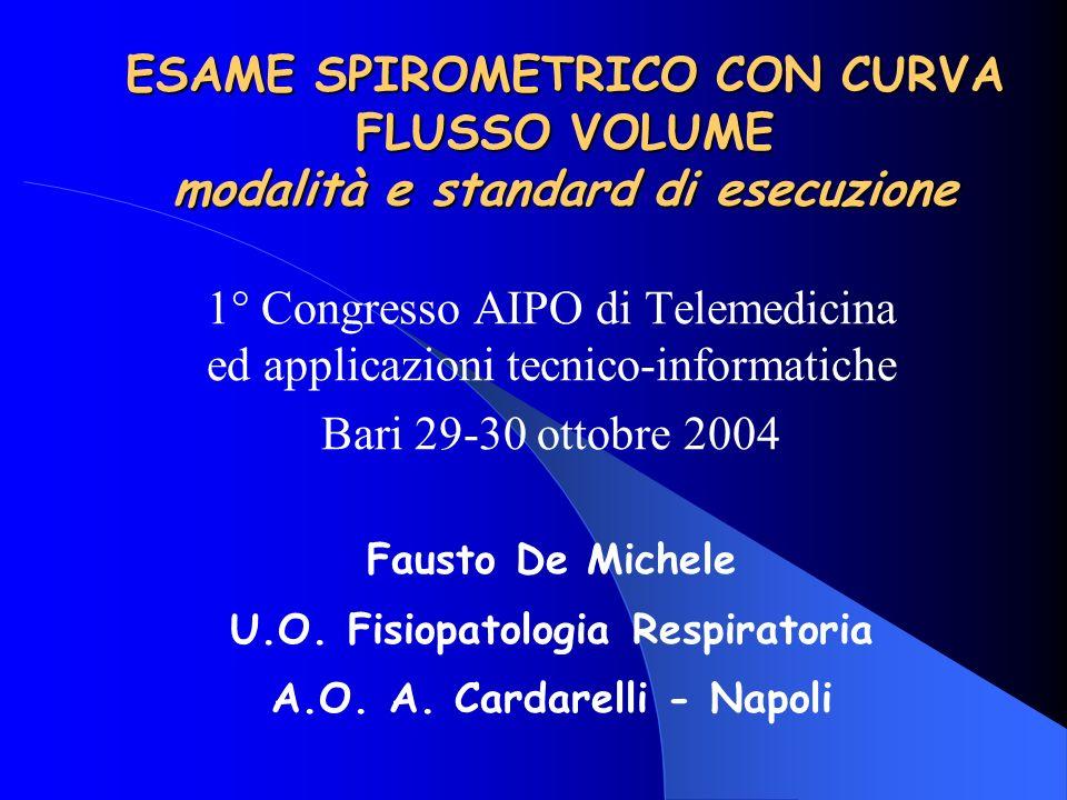 U.O. Fisiopatologia Respiratoria A.O. A. Cardarelli - Napoli