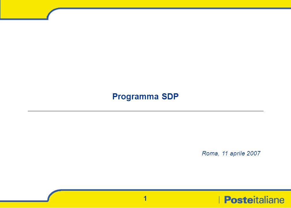 Programma SDP Roma, 11 aprile 2007