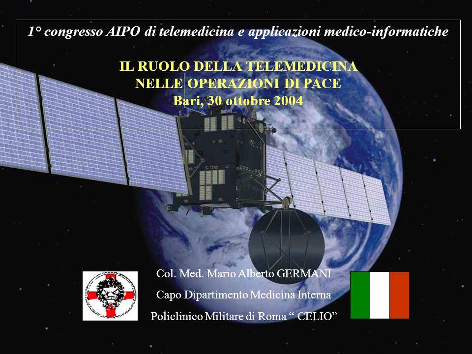 1° congresso AIPO di telemedicina e applicazioni medico-informatiche