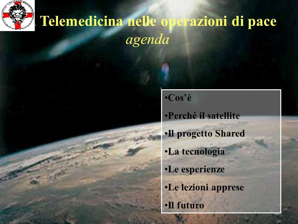 La Telemedicina nelle operazioni di pace agenda