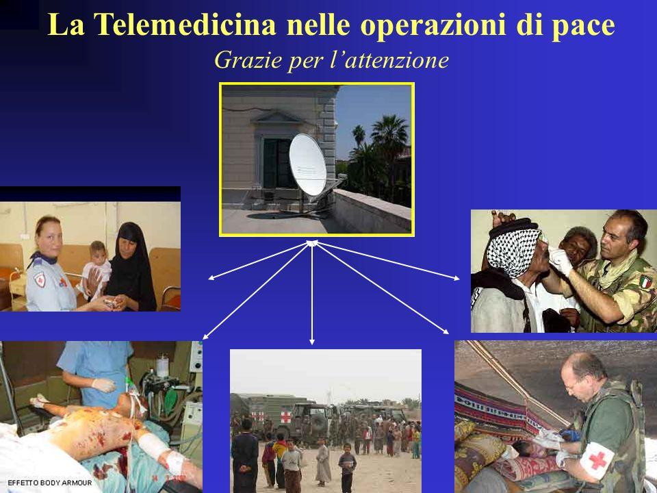 La Telemedicina nelle operazioni di pace